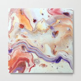 Marbled Candy Metal Print