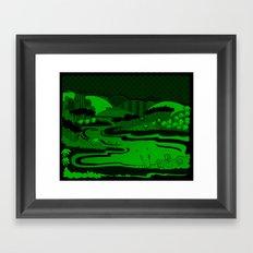River São Francisco Framed Art Print