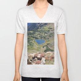 Blue Lake Unisex V-Neck