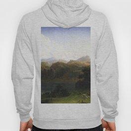 Mount Hood Oregon 1865 1 By Albert Bierstadt | Reproduction Painting Hoody