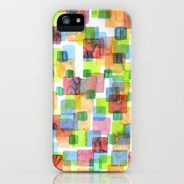 Square Dance iPhone Case