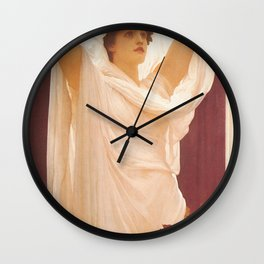 Frederic Leighton - Invocation Wall Clock