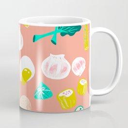 Eat Dim Sum Pink by Cindy Rose Studio Coffee Mug