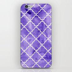 curvy purple pattern iPhone & iPod Skin