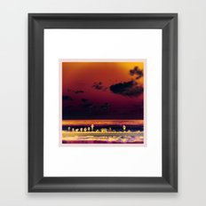 cardiff by the sea Framed Art Print