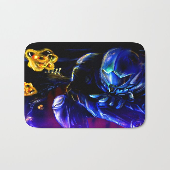 Metroid Metal: Sector 1 Bath Mat