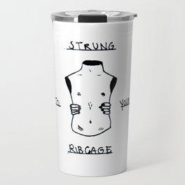 Ribcage Travel Mug