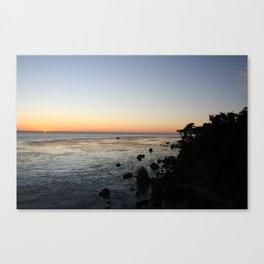 Big Sur Sunset 1 Canvas Print