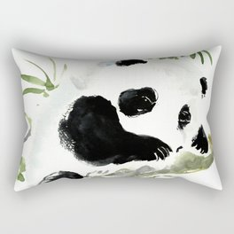 Baby Panda Rectangular Pillow