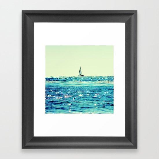 Sailin' Framed Art Print