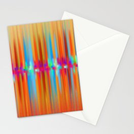 Seismic Shift Fiery Clouds Stationery Cards