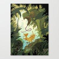 Zolom Canvas Print