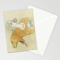 The lady and the lion. Stationery Cards