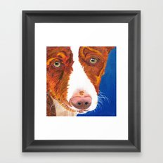 Josefina (old man eyes) Framed Art Print