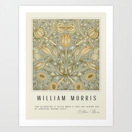 Modern poster-William Morris-Vegetable print 3. Art Print
