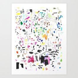 Markings Art Print