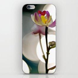Spot Light Flower iPhone Skin