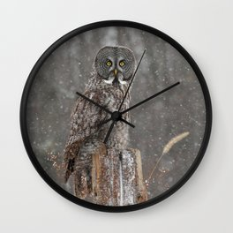 Flurries in the forecast Wall Clock