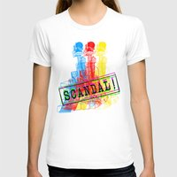 scandal T-shirts featuring Scandal Scandal Scandal by Genco Demirer