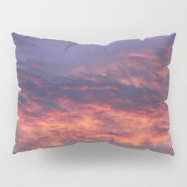 Sunset - Volcano Sky Pillow Sham