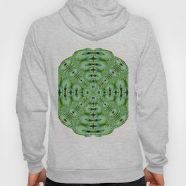 288 - Abstract Fern Orb Hoody