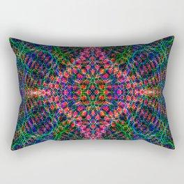 Diffract multi-color Rectangular Pillow