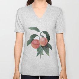 Peaches for days  Unisex V-Neck