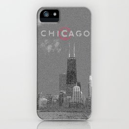 Chicago Lakefront - Grey iPhone Case
