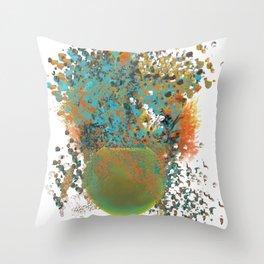Happy Plant Throw Pillow