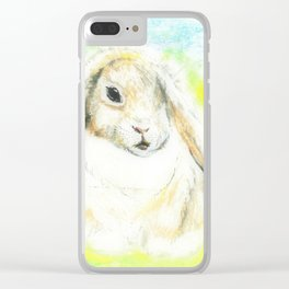 Baby lop-eared bunny Clear iPhone Case