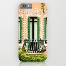 3 green windows iPhone 6s Slim Case