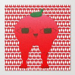 Watermelon blodbaby Canvas Print