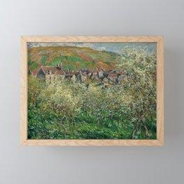 Plum Trees in Blossom Framed Mini Art Print