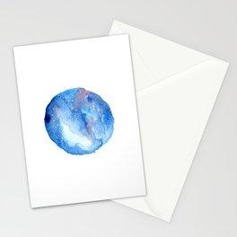 Galaxy stars Stationery Cards