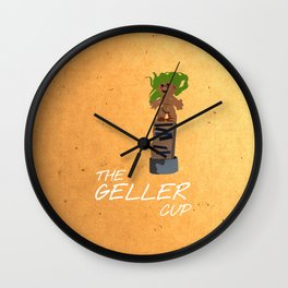 Friends 20th - Geller Cup Wall Clock