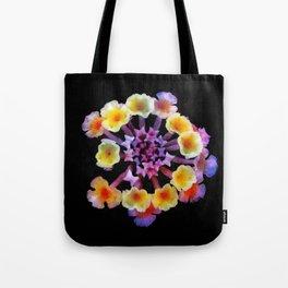 Camara flower - natural mandala Tote Bag