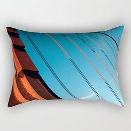 Diagonally Yours.  Rectangular Pillow