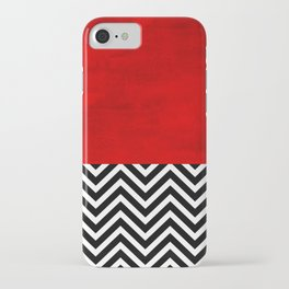 Fire, walk with me. iPhone Case