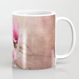 Pink Magnolia III - Flower Art Coffee Mug