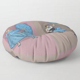 Caring, Sharing Floor Pillow