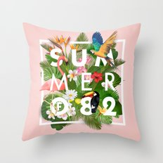 SUMMER of 82 Throw Pillow