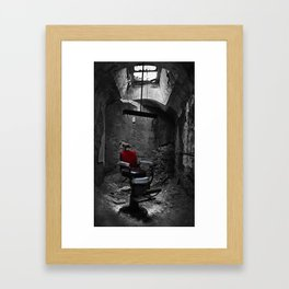 Barber Shop Framed Art Print