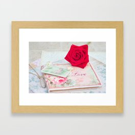 Thinking of You Framed Art Print