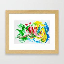 Colour Me Framed Art Print