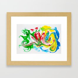 Colour Me Framed Art Print