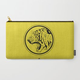Tiger in a circle Carry-All Pouch