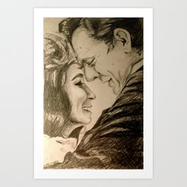 I Want To Love Like Johnny And June Art Print