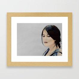 Leila Behkti Framed Art Print