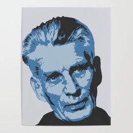 Samuel Beckett Poster