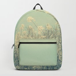 Cotton Candy Wildflowers, Baby Blue Sky Backpack